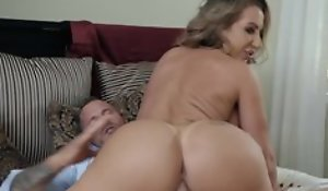 Hubbie and his join in matrimony nice blowjob sex act, hardcore fucking and cumshot