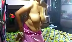 Horny Juhi aunty sucking increased by eternal fucking