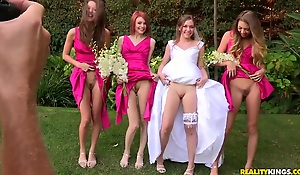 Sweet porn wedding with Aurielle and her palsies