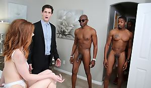 Pepper Hart Interracial Anal invasion Team fuck - Cuckold Sessions