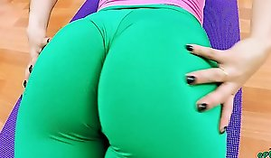 Big Cameltoe Teen in Tight Lycra Spandex and a Big Less the air Ass