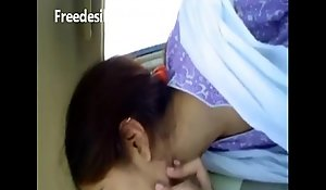 Shareefa cute desi sexually sexually excited BBC slut kiss in railway carriage with paramour