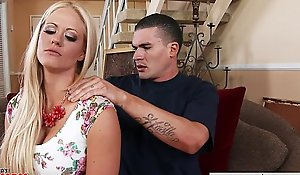 Very hawt tit holly heart receives large mangos drilled