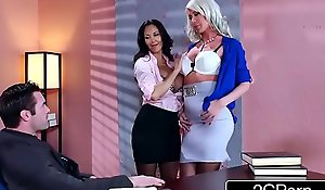 Sexy trio just about the office - ava addams, riley jenner
