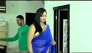Beautiful Bhabhi in saree carrying out sexy sex with other man