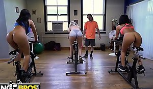 Bangbros - latin milf nick scrimp monroe receives her large butt worked out by brick danger