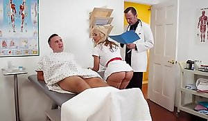 Brazzers.com - doctor adventures - jizz for nurse sarah chapter starring sarah vandella and keiran lee