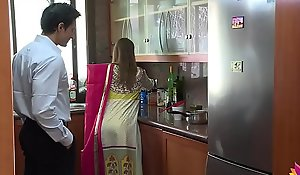 Lonely beautiful wife falls sucker to husband's pervy boss Niks Indian