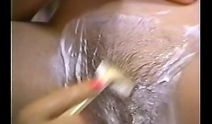 Retro porn - hot tow-headed shaving ignorance
