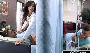 Chunky Tit Latina Carefulness Isis Love Helps Her Patients